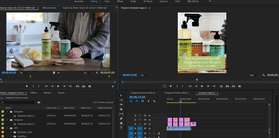 Video Editing Post-Production